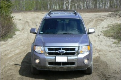 Ford escape vue de face