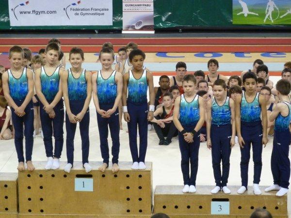 Régional par équipe à Saint Brieuc