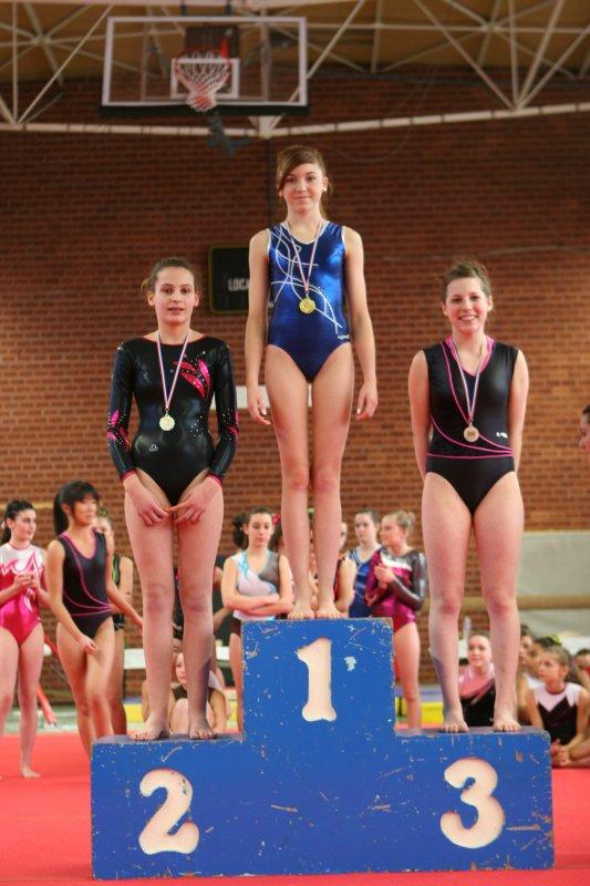 28 podiums pour la quimpéroise gymnastique au finistère individuel