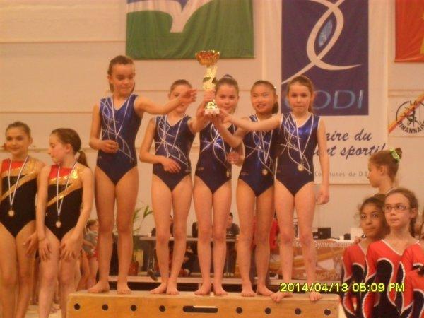 6 podiums breton et zone ouest 2014