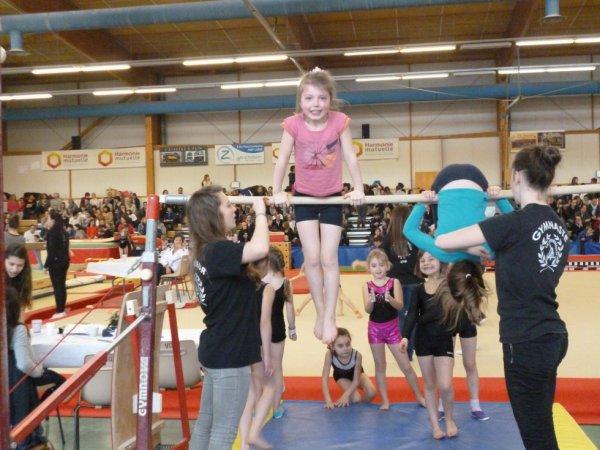 200 gymnastes pour la compétition départementale inigym à La Quimpé