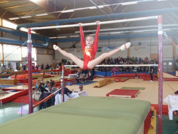 380 enfants à l'évaluation interne de La Quimpéroise gymnastique