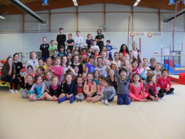65 enfants par jour s'initient à la gymnastique atout sport