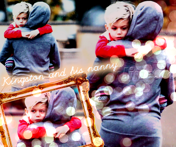 Kingston and his nanny : Day out in LA