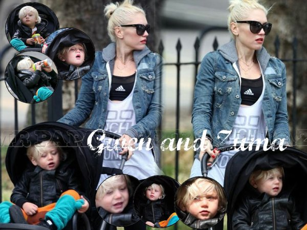 Gwen and Zuma : Day out in Primrose Hill (86)