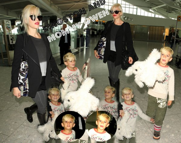 Gwen and Kingston : At A Birthday Party /// To The Airport (89)
