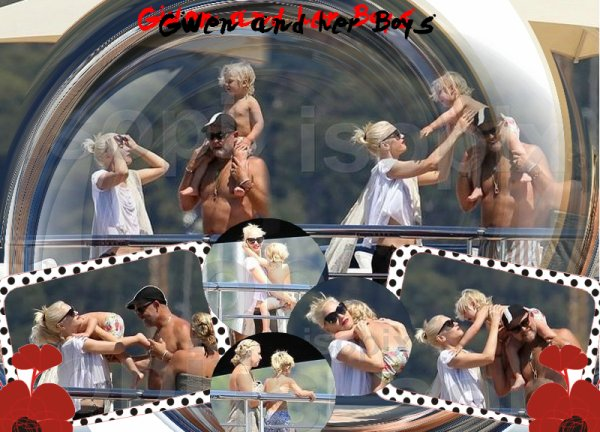"Gwen : The screening of ""This Must Be The Place"" /// Gwen and The Boys : Relax on the yacht with friends (98)"