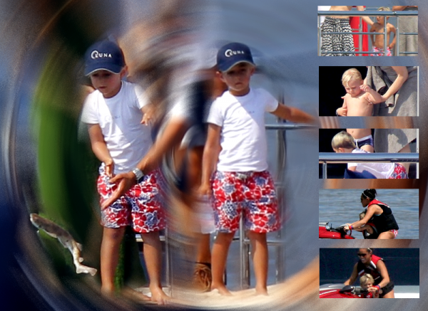 Gwen , The Boys and Friends in Saint-Jean Cap Ferrat (100)