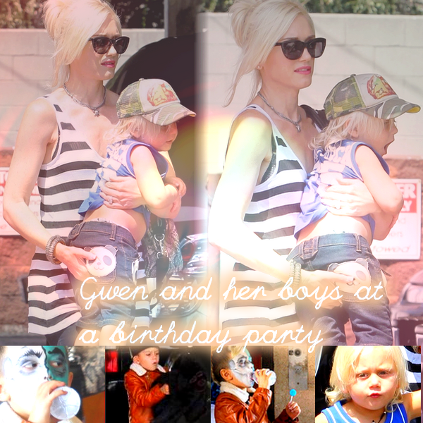 Gwen and the Boys : At a birthday party // All The Family : At Underworld Family Farms