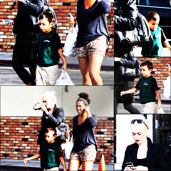 Gwen and Kingston : Shopping at CVS / Gavin interview about the Boys