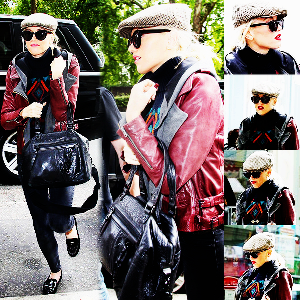 Gwen : catches a flight at LAX // Out and about in Central London