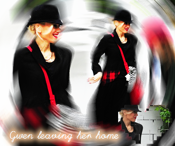 Gwen : Leaving her home // At Frieze Art Fair VIP Preview & Leaving Cecconi's restaurant