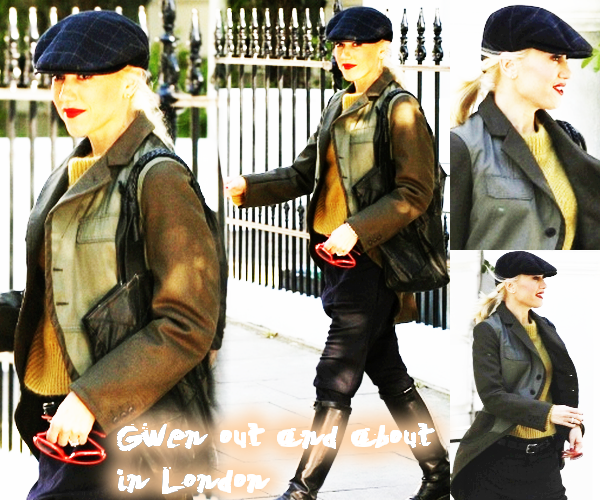 Gwen : Day out in London // Gavin & Gwen : Interviews about their Boys