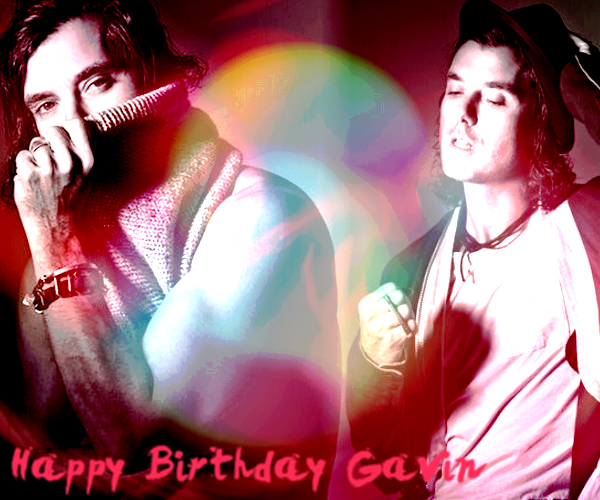 Happy Birthday Gavin ! ♥