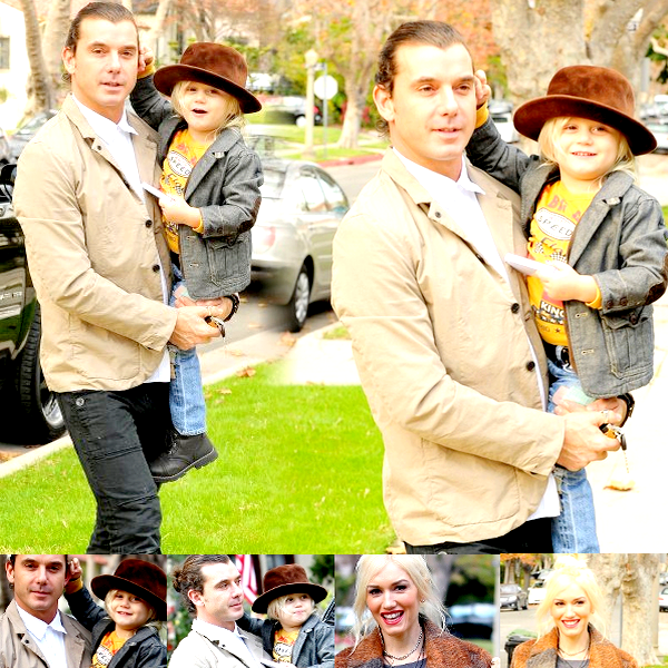 Gwen , Gavin and The Boys : At Gwen's parents house