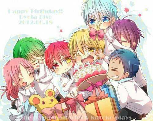 Bon Anniversaire Kise !!