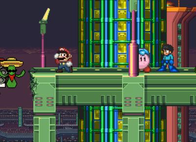Kirby Megaman