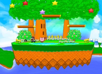 SSF2 moqueries Kirby
