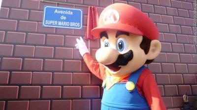 Incroyable mais vrai :Rue Super Mario Bros