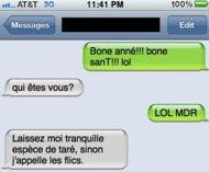Anti-Spam:10 bonnes raisons de ne pas envoyer un SMS le soir du 31