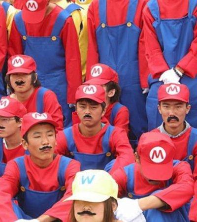 Record du monde !:Le plus grand rassemblement de Mario !