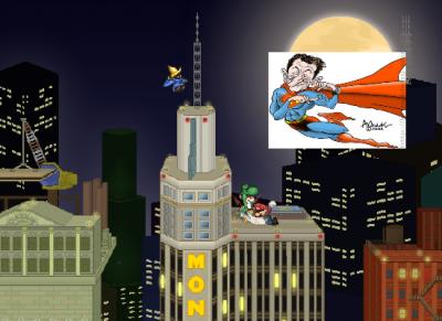 Sarkozy dans Super Smash Flash 2 !