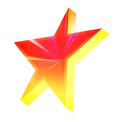 L'étoile Skyrock avec effets ^^