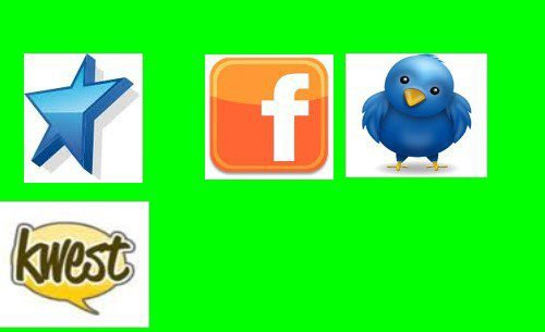 Skyrock VS Facebook VS Twitter VS Kwest