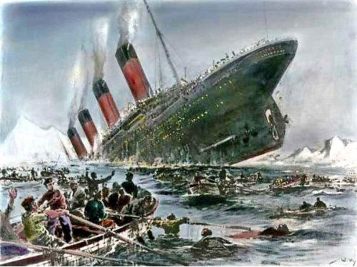 Il y a 100 ans coulait le titanic