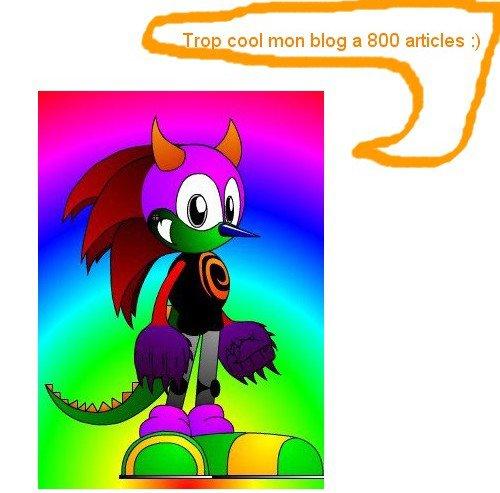 Mon blog a 800 article !