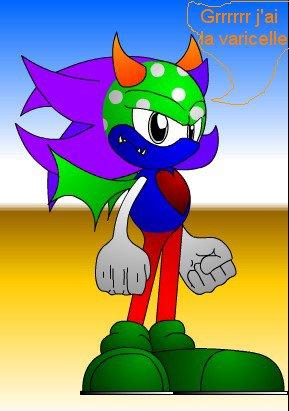 Un Sonic qui a la varicelle !