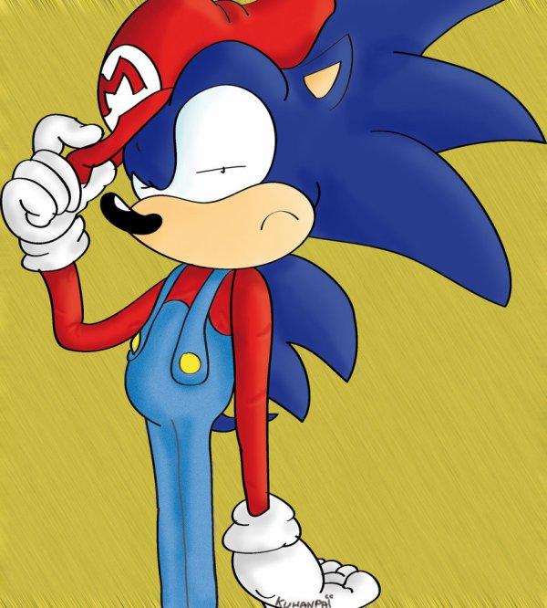 Sonic est un plombier :D