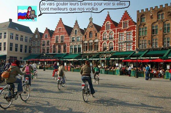 Nyan Cat russe en Belgique :D