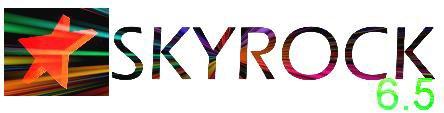 Logo Skyrock retouchés