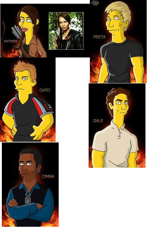 The Hunger Games Simpson :D