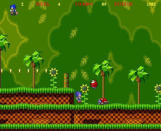 On dirait que le monde de Mario se trouve près du monde de Sonic