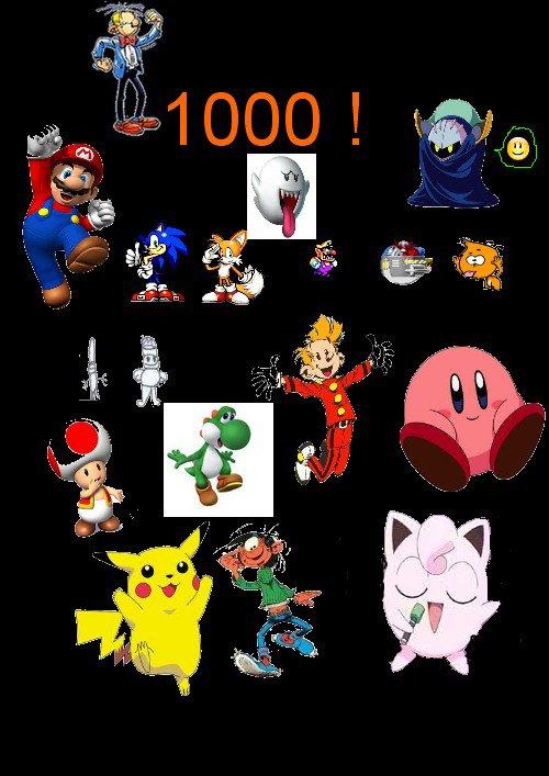 En plein dans le 1000 ! :D8-p:)8-p8-p8-p^^ !