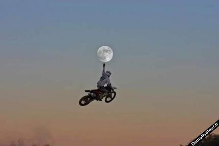 Il a décroché la lune !