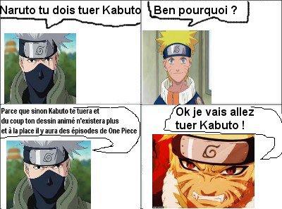 Naruto doit tuer Kabuto