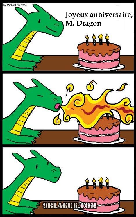 Bon anniversaire au dragon