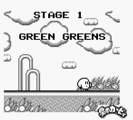 """Pourquoi est-ce que le monde 1 de Kirby's Dreamland s'appelle """"Green Green"""" et pas """"White White"""" ?"""