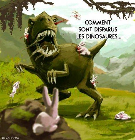 Comment les dinosaures ont disparus