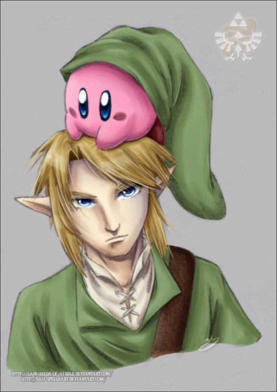 Kirby et Link