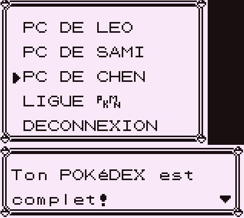 J'ai capturé les 151 pokémons dans la version Rouge :) :) :) :) 8-p ^^^^^^ !