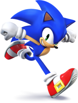 Sonic dans Super Smash Bros 4 :) !