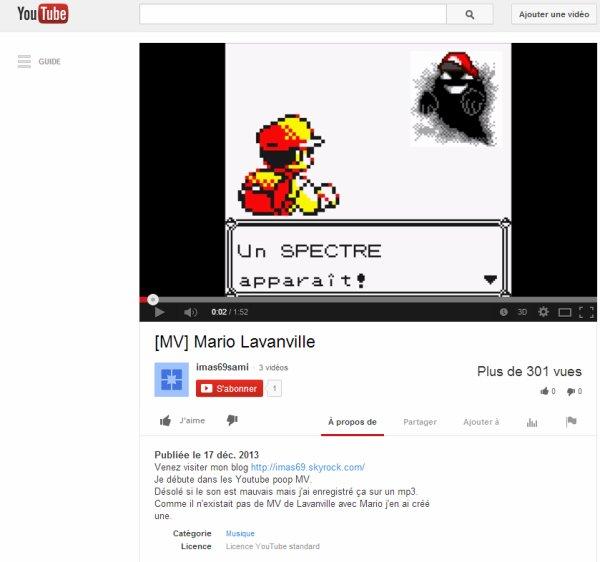 Mario Lavanville (youtube poop MV créée par moi :))