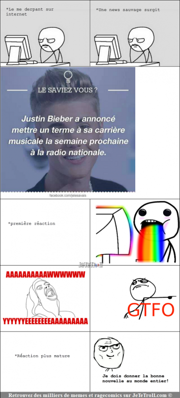 Justin Bieber prend sa retraite !