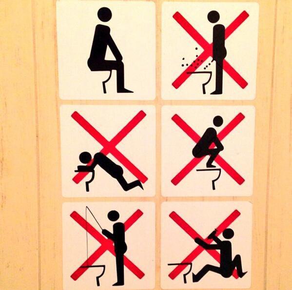 Toilettes à Sotchi :D