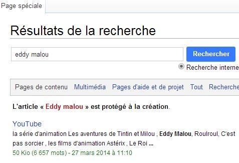 Pourquoi Eddy Malou n'a pas le droit d'être sur Wikipédia ?