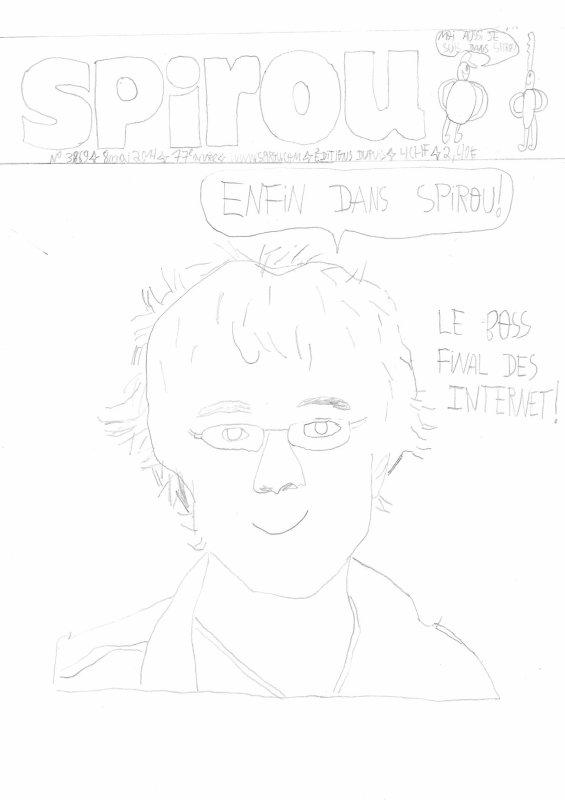 Antoine Daniel dessiné par moi !